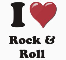 I Heart Rock & Roll by HighDesign