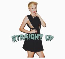 "Miley Cyrus ""Straight Up"" by davidngabbana"