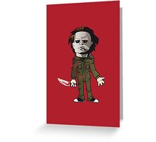 Michael from Halloween Greeting Card