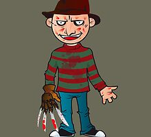 Freddy from your nightmares by Marco D. Carrillo