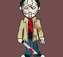 Jason Friday the 13th by Marco D. Carrillo