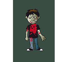 Zombie Boy Photographic Print