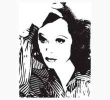Hedy Lamarr In Stripes by Museenglish
