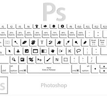 Photoshop Keyboard Shortcuts by Skwisgaar