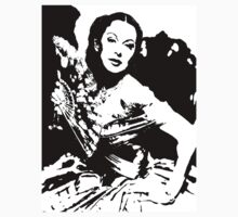 Hedy Lamarr And The Fan by Museenglish