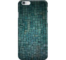 Aqua Tiles Mosaic Pattern iPhone Case/Skin