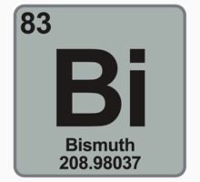 Element Bi Bismuth by SignShop
