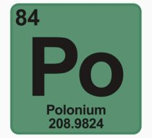 Element Po Polonium by SignShop