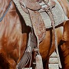 Western Saddle-Puck Fair by Pauline Sharp