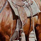 Western Saddle-Puck Fair by Pauline Sharp