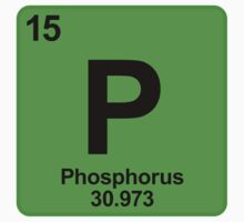 Element P Phosphorus by SignShop