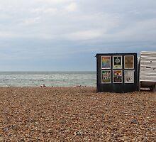 Brighton Beach 1 by Adam Wain