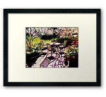 Dal mio giardino Framed Print