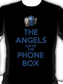 The Angels Have The Phone Box (Color Version) T-Shirt
