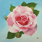 Pink Vintage Rose by Lynne  Kirby