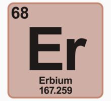 Element Er Erbium by SignShop