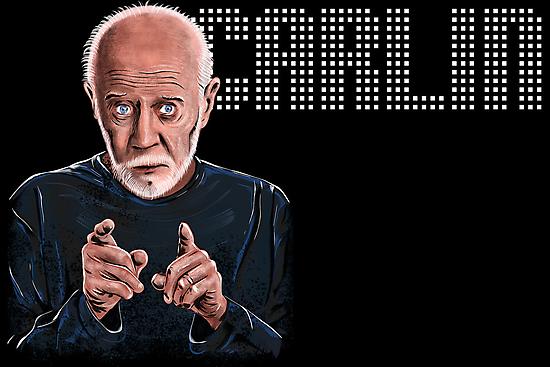 George Carlin - Comic Timing by uberdoodles