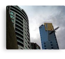 Quay West, IBM & Eureka Skydeck Buildings Canvas Print