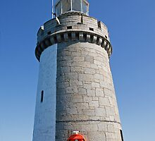 St Peters Port Guernsey lighthouse by Keith Larby