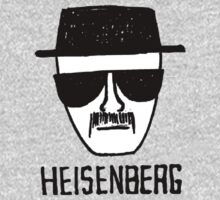 Hand Drawn Heisenber Face by elPotto