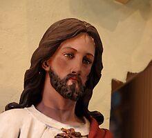 Jesus The Christ - St. Mary's Historical Church by John Schneider