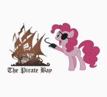 Pinkie Pie loves The Pirate Bay (TPB) by amigoeliaborri