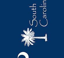 Smartphone Case - State Flag of South Carolina VII by Mark Podger