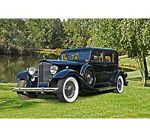 1933 Packard Sedan Photographic Print