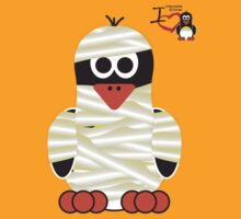 Halloween Penguin - Mummy by jimcwood