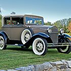 1931 Ford Model A Victoria I by DaveKoontz