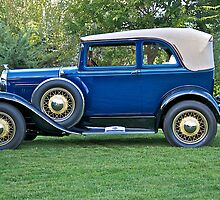 1930 Ford Model A - 400 Convertible Sedan I by DaveKoontz