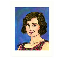 Lady Edith Art Print