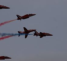 Red Arrows by CJSmithPhoto