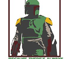 Boba Fett, Independent Contractor by mymainmandeebo