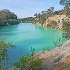 Little Blue Lake, Gladstone, Tasmania by Graeme  Hyde