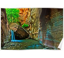 Inner Canyon Paradise Poster