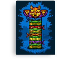 Totem-lly Radical Canvas Print