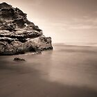 Outcrop in Sepia by Hicksy