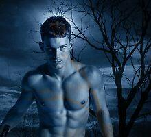 Legend of the Phantom Swordsman safe version - gay art male art by Michael Taggart