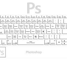 Photoshop Keyboard Shortcuts Tool Names by Skwisgaar