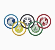 Pokemon Olympics by konow