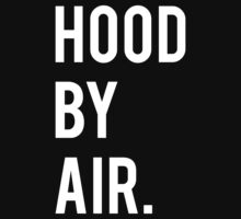 Hood By Air Logo 2 by HoodRich