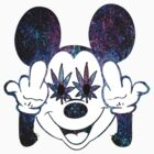 Stoned Mickey  by blckstrps29