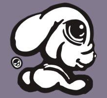 Cute Rabbit Tee / Sticker  by Sookiesooker
