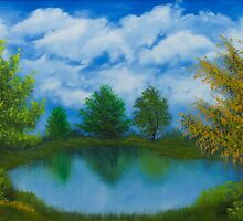 The Pond by ArmstrongArt