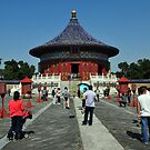 Temple Of Heaven, Beijing. by Ralph de Zilva