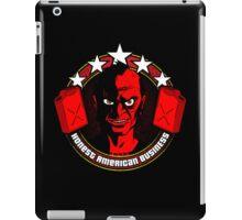 Honest American Business iPad Case/Skin