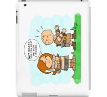 Little Flame Haired Girl iPad Case/Skin