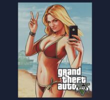 GTA V (5) Beach Babe by blacksmoke