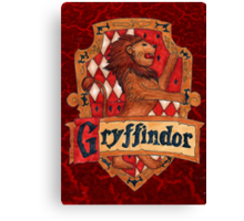 Gryffindor House Crest Canvas Print